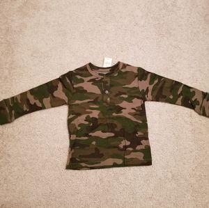Gap Camo Long Sleeve Shirt Kids